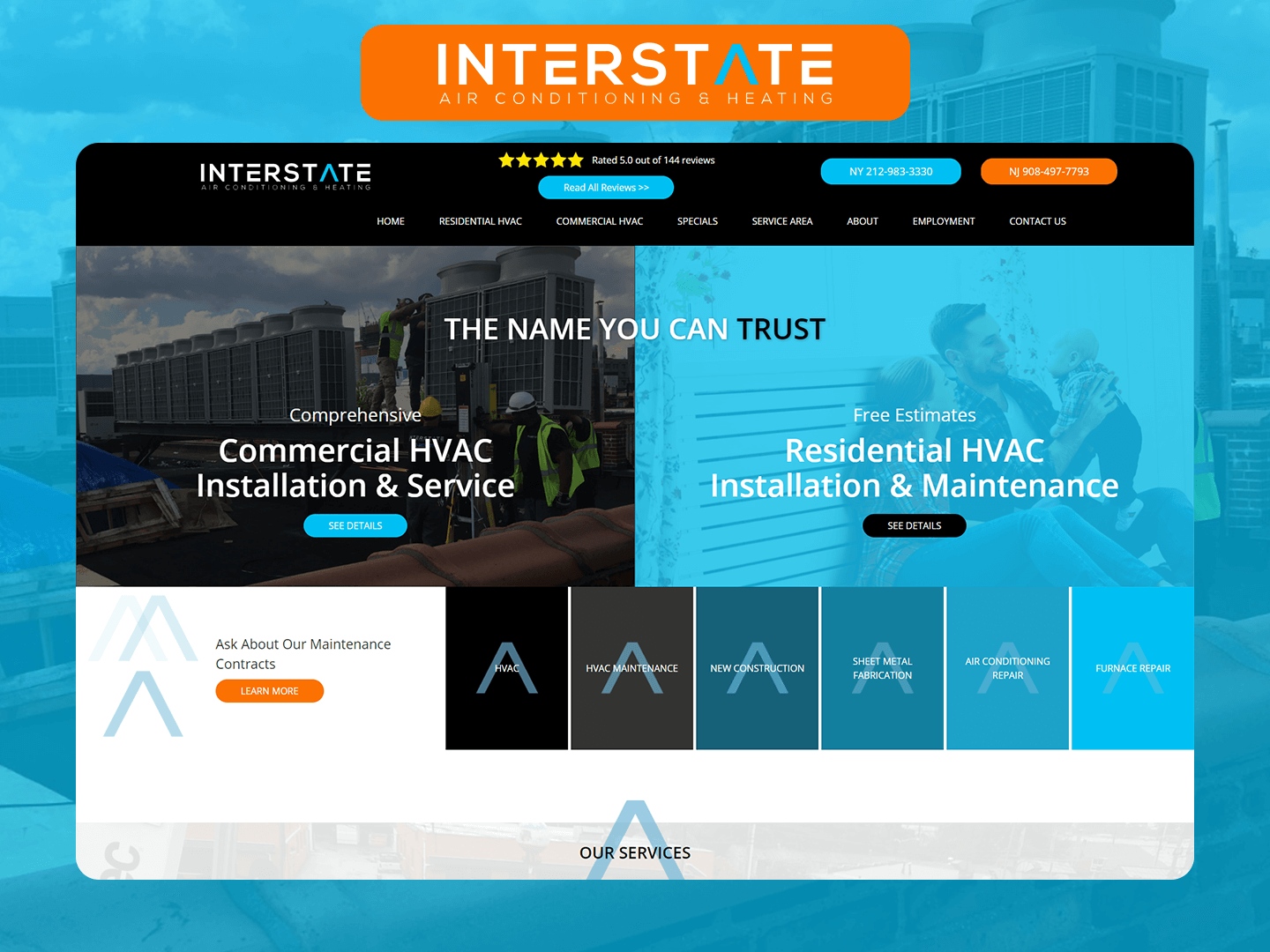 Interstate Air Conditioning and Heating